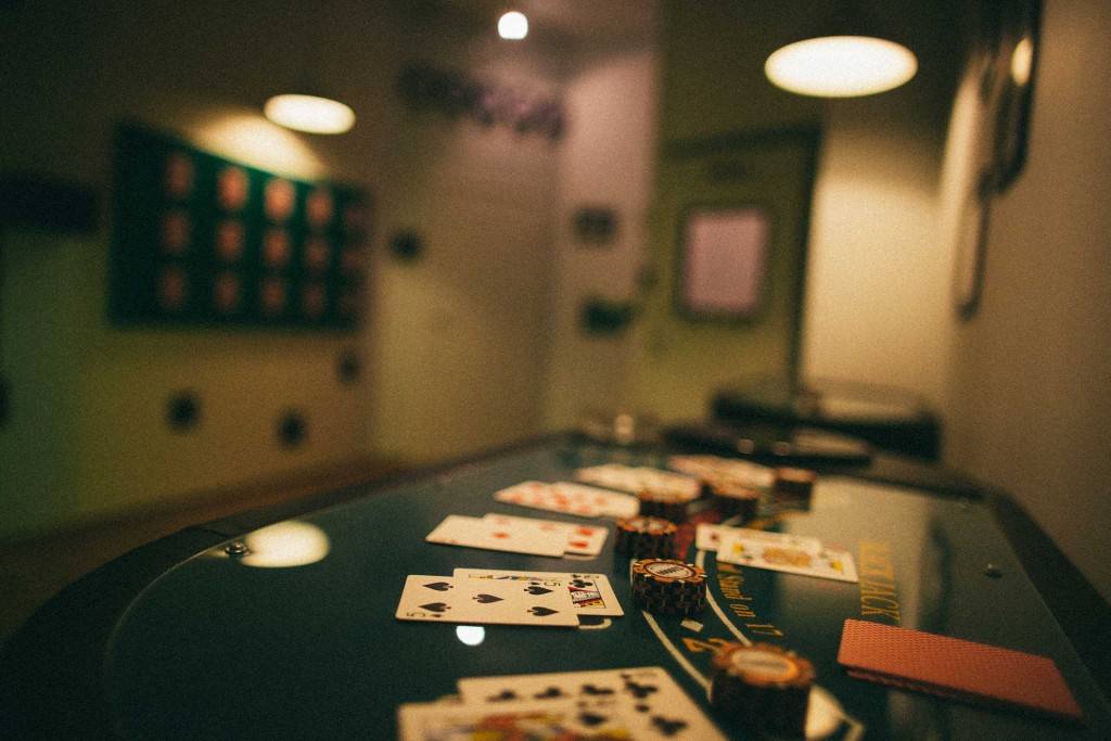 Lock, stock and two playing tables